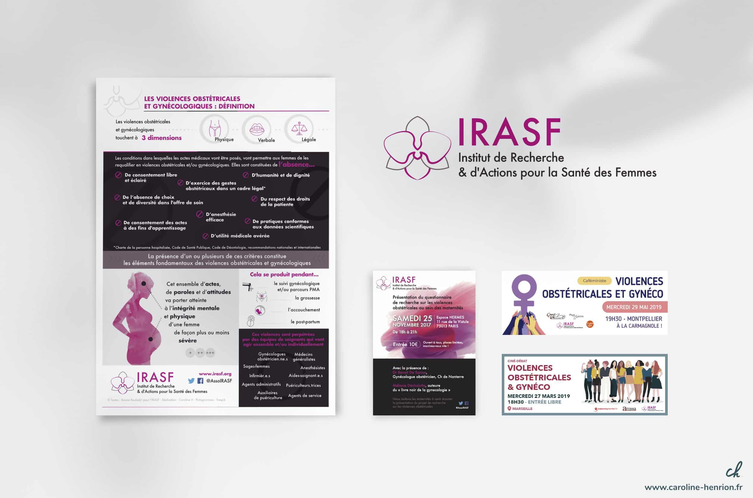 création de flyers et visuels