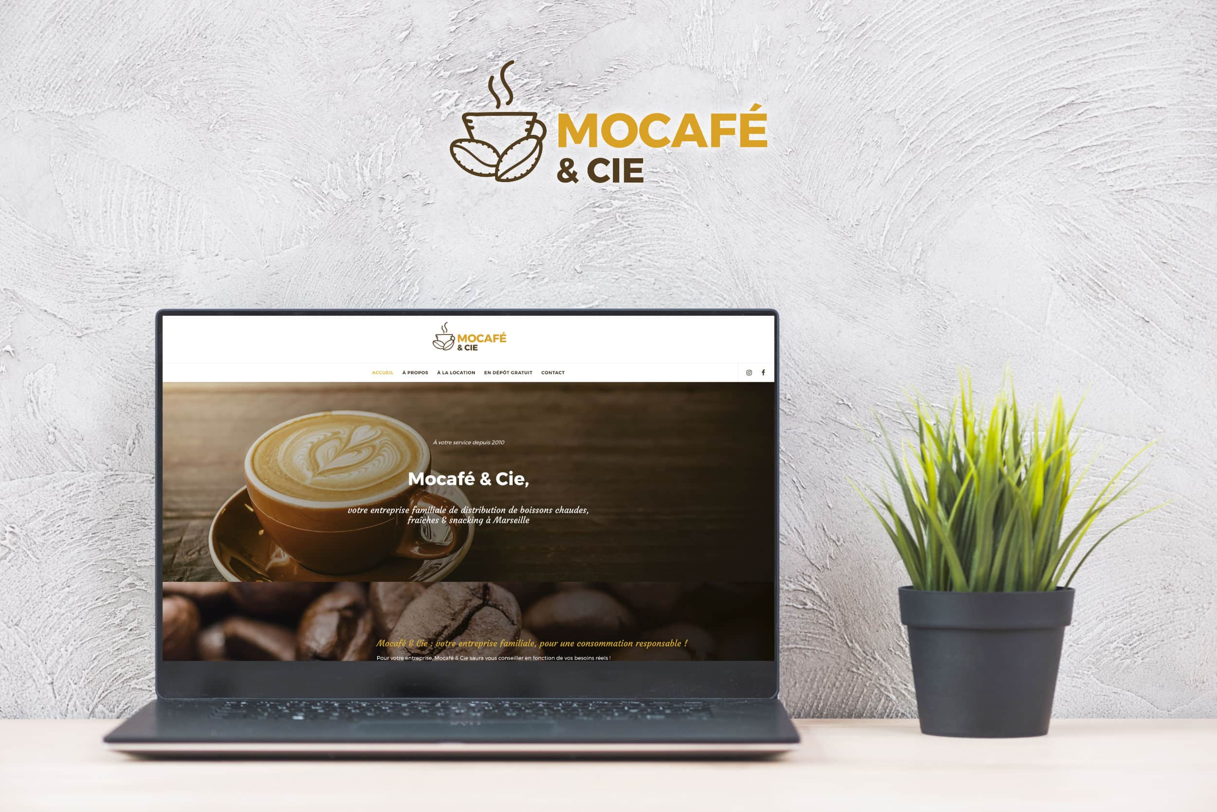 site Mocafé & Cie