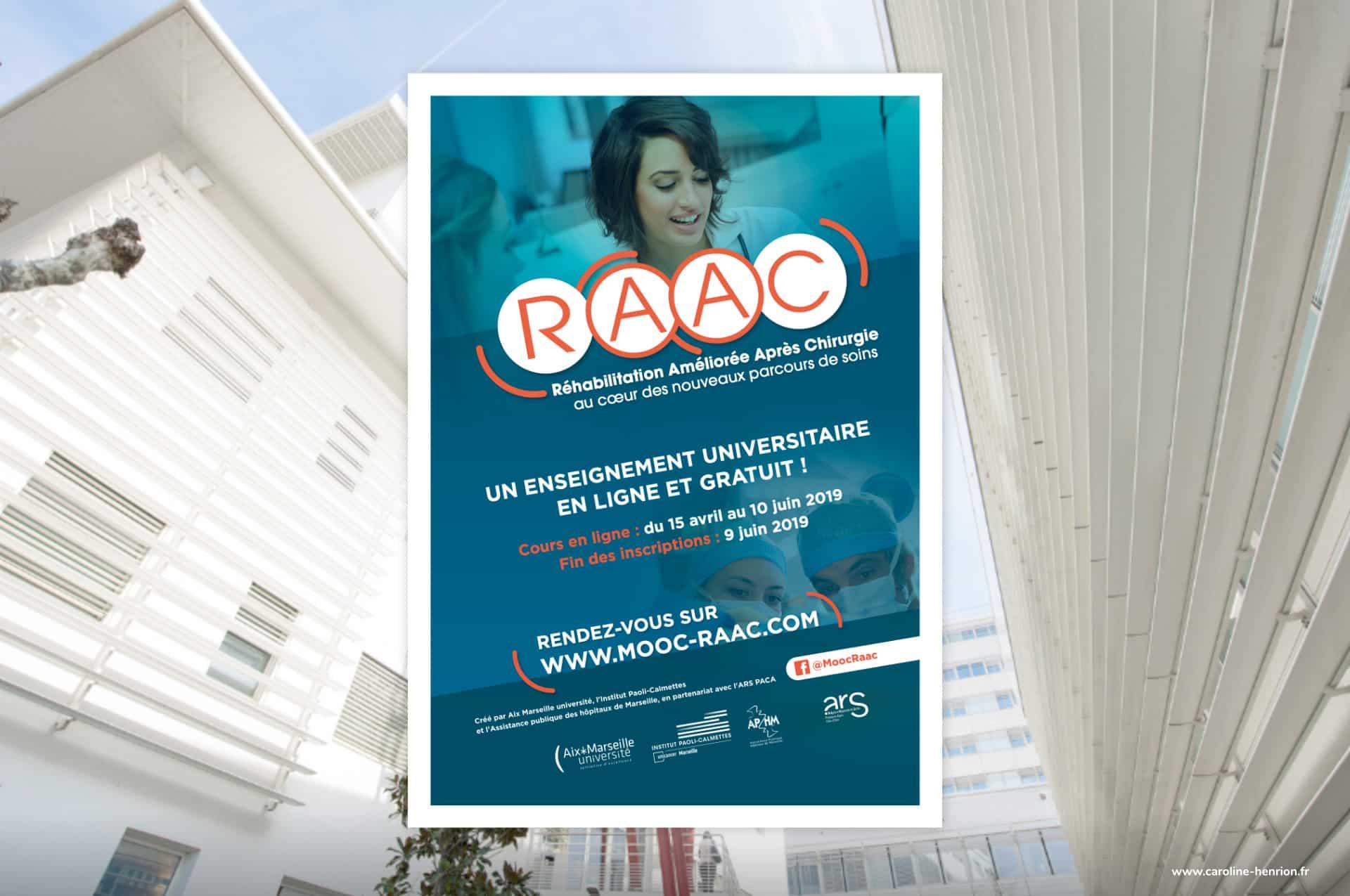 affiche A3 du MOOC sur la RAAC par l'IPC